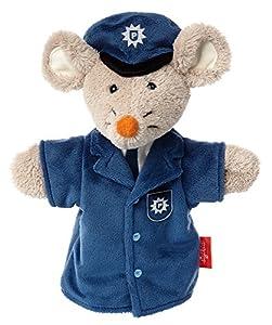 Sigikid, niñas y niños, marioneta de Mano de policía, Sweety, Gris/Azul, 41331