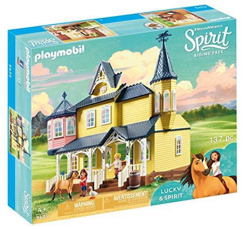 Playmobil, DreamWorks Spirit DreamWorks Spirit 9475 Lucky's Happy Home by Playmobil, Multi-Colour