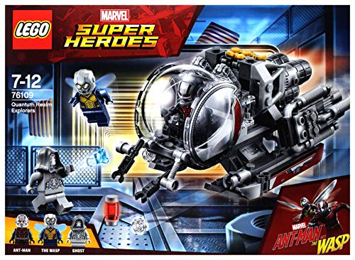 LEGO MarvelSuperHeroes Erforscher des Quantenreichs (76109) cooles ()
