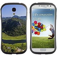 Super Galaxy iFace Series Tpu Silicona Carcasa Funda Case // F00003640 Montenegro montañas lago de agua verde // Samsung Galaxy S4 S IV SIV i9500