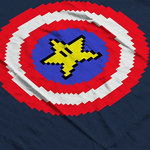 Captain Pixel Avengers Men's Vest Navy Blue