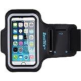 Brassard iPhone 5/5s/5c Armband Bracelet Sport pour iPhone 5 Jogging en Néoprà..ne noir Bestwe
