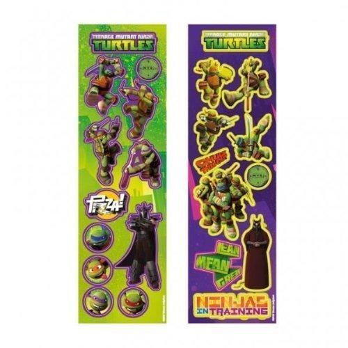 Turtles Party Sticker Streifen x 8 (Ninja Turtle Spielzeug)