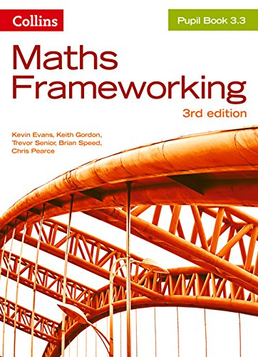 KS3 Maths Pupil Book 3.3 (Maths Frameworking)