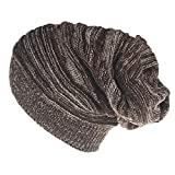 DAMENGXIANG Unisex Herbst Winter Warm Crochet Knit Cap Frauen Männer Mode Freizeit Kopfbedeckungen Stricken Hedging Ohr Schutzkappe