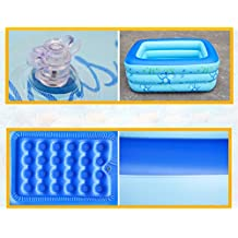 aike FACAI888 Baño Inflable Doble/Bañera Espesa/Bañera Doble/Piscina Infantil - Bañera