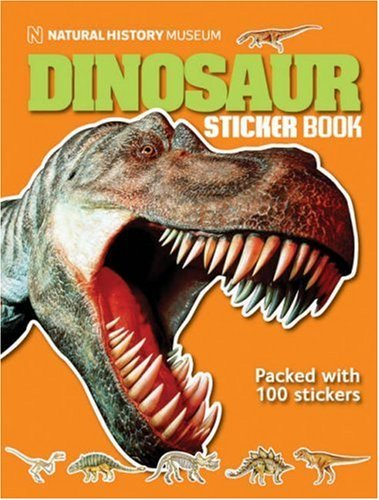 Natural History Museum Dinosaur Sticker Book by Angela Milner (2007-10-18)
