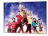 Big Bang Theory, Format: 60x40 Bild auf Leinwand gespannt, Leinwandbild, 1A Qualität zu 100% Made in Germany! Kein Poster Kein Plakat! Echtholzrahmen mit beigelieferten Zackenaufhängern. Fertig bespannt, Sofort dekorieren. Vier verschiedene Formate.