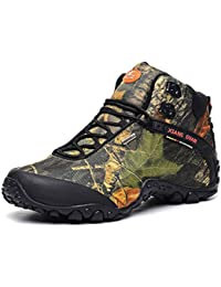 SANANG Unisex zapatos de senderismo impermeable de invierno al aire libre de alto-top zapatos de trekking zapatos de escalada