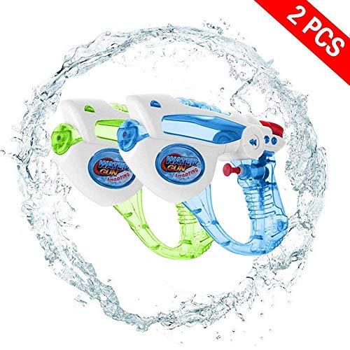 Yojoloin Wasser Blaster Super Wasserpistole Soaker Spritzen 200CC Feuchtigkeit Kapazität Party und Outdoor-Aktivität Wasser Spaß (2 Stück) Blaster für Kinder, Wasserkrieg (Randon 2PCS)