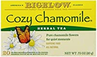 Bigelow Cozy Chamomile Herbal Tea, 20-Count Boxes (Pack of 6)