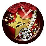 Forum Novelties X75862 At the Movies - Plato de postre, multicolor, talla única