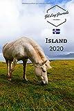 Kalender Island 2020: Wochenkalender 2020 ? Island  Planer ? Island Geschenk ? Wochenplaner 2020 ? Kalenderbuch ? Terminplaner 2020 - JetlagJournals Kalender