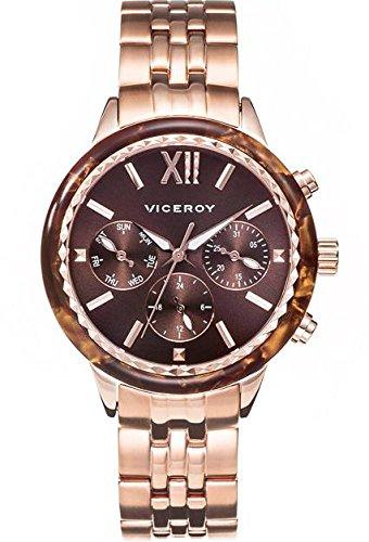 Viceroy Reloj Multiesfera para Mujer de Cuarzo con Correa en Silicona 47850-43