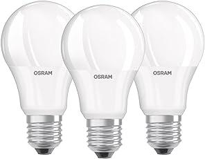 Osram LED Base Classic A Lampe, In Kolbenform Mit E27 Sockel, Nicht Dimmbar