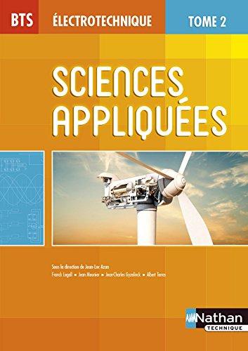 BTS lectrotechnique  : Sciences appliques, Tome 2