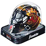 Franklin Sports NHL League Logo Mini Masque de Gardien, Noir