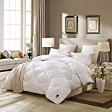 LXDDP Weiche Flauschige Bettdecke waschbar hypoallergene Bettdecke Elastizität atmungsaktiv einfarbig Quilt-B 150x215cm (59x85inch)