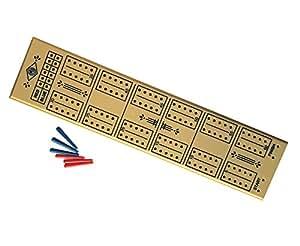 Cribbage board 60 hole plastic