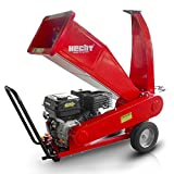 HECHT Benzin-Häcksler 6208 Gartenhäcksler Holz-Schredder (5,2 kW / 7,0 PS)