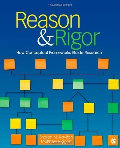 Reason & Rigor: How Conceptual Frameworks Guide Research by Ravitch, Sharon M. (Michelle), Riggan, J. (John) Matthew (Ma published by SAGE Publications, Inc (2011)