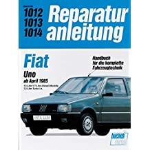 Fiat Uno Diesel / Uno Turbo i.e. ab April 1985 // Reprint der 1.