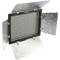 Yongnuo YN-300 LED Illumination Dimming Video Light for Canon 5D,7D,50D,60D,500D,550D,600D,1000D,1100D; Nikon D700,D300,D400,D200,D90,D60,D3,D2,D1,D7000,D5000,D3100,D3000; Olympus E620,E520,E510,E500,E420,E3,E1,E-P3,EP2,EPL-3,EPL-2; Panasnic LX5,GH1 GF1 GF2; Pentax; Fuji; Sony DSLR/SLR & Camcorder +IR Remote Upgrade from YN160 YN160S CN160