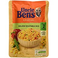 Uncle Ben's Microwave Golden Vegetable Rice 250g Pouch