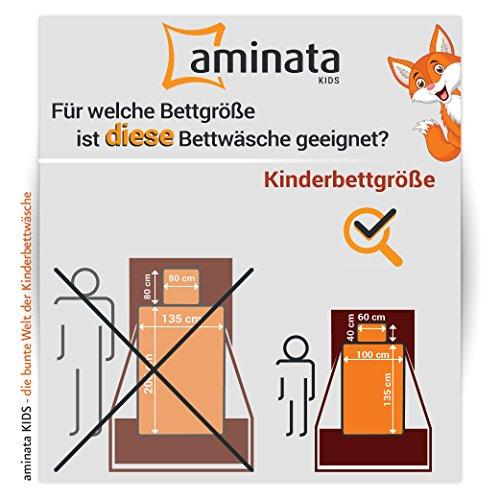 Zootiere – Kinderbettwäsche – Aminata Kids - 6