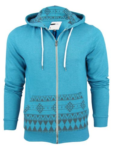 D-Code - Sweat-shirt à capuche -  Homme Bleu - Turq