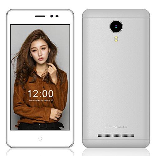 EasySMX Leagoo Z5C Smartphone 5.0 Pulgadas Android 6.0 3G SC7731c Cortex A7 Quad Core a 1.3GHz con 1GB RAM + 8GB ROM GSM & WCDMA Doble SIM Tarjeta (Blanco)