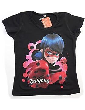 Miraculous Ladybug e Cat Noir - Maglia Maglietta T-shirt Full Print - Bambina - Novità Prodoto Originale 382-269