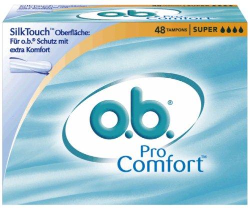 o.b. Tampons Pro Comfort Super, 48er Packung -