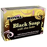 Royal Black Soap with Shea Butter - One ...