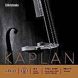D\'Addario Bowed Corde seule (Ré) pour violoncelle D\'Addario Kaplan, manche 4/4, tension Heavy