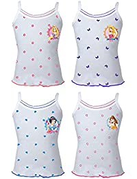 THE BODY CARE Girl's Cotton Printed Barbie Slip - Pack of 4