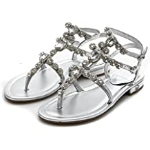 Guess Scarpa Donna filpina Thong Infradito Silver FLFIL2LEL21SILVE.38 f8c36154a16