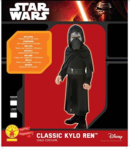 Imagen de star wars  disfraz kylo ren, para niños, 7 8 años rubies 620260 l  alternativa