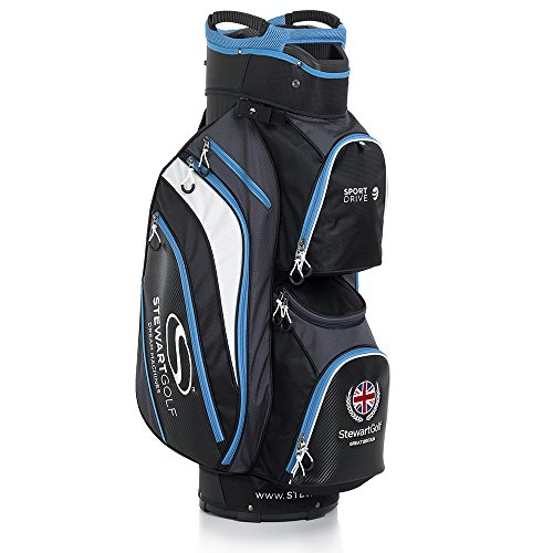 Stewart Golf Sportdrive Sac Chariot Taille Unique Noir/Bleu