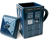 Wesco Dr Who Tardis Tazza e coperchio