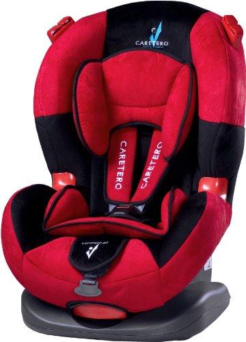 Caretero Ibiza, Autositz gruppe 1-2 (9-25kg), rot Preisvergleich