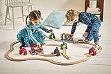 BRIO World 33874 Smart Tech Waschanlage für Züge – Waschstraße mit rollenden Walzen & Sound-Effekten – Interaktives Spielzeug empfohlen ab 3 Jahren Vergleich