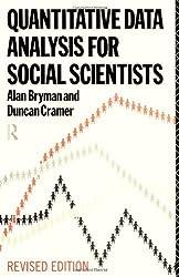 Quantitative Data Analysis for Social Scientists by Prof. Alan Bryman (1994-08-04)