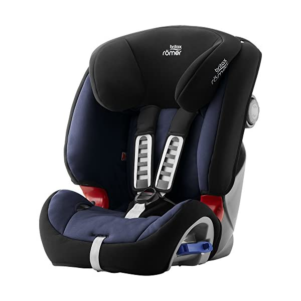 Britax Römer MULTI-TECH III Car Seat (9 Months-6 Years  9-25 kg), Moonlight Blue  Advanced side impact protection - the SICT feature offers superior protection to your child in the event of a side collision Extended rearward facing - rearward facing car seats offer the best protection in the event of a frontal collision - the most frequent type of accident on the roads Deep, protective side wings - the soft, padded side wings act as a protective cocoon that helps to absorb the force from a side impact, reducing the risk of injuries to your child 1