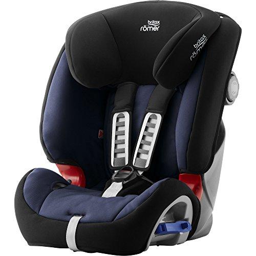 Britax Römer Kindersitz 9-25 kg, Autositz Gruppe 1/2, MULTI-TECH III, Moonlight Blue