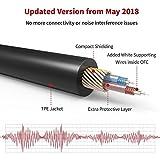 iVanky Aux Kabel, 1,2M/ 2-Pack, 3,5mm Audio Kabel (Kupferhülse / Hi-Fi Sound), Klinkenkabel klinkenstecker für Kopfhörer Sony Beats Bose, Apple, Echo dot, Smartphones, MP3 Player und mehr - Schwarz - 2