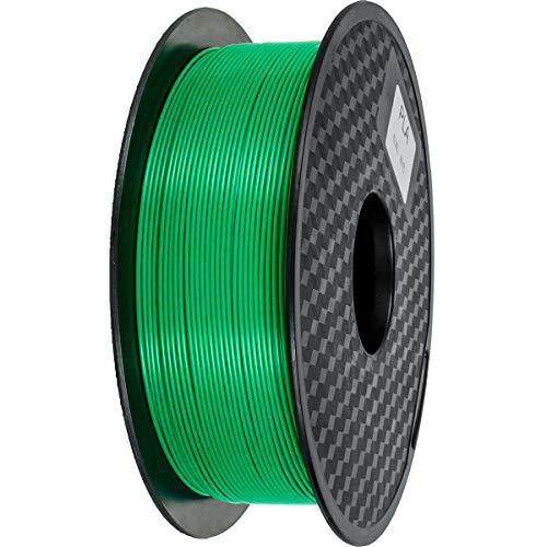 Filamento PLA 1,75 mm, GIANTARM Stampante 3D PLA Filamento 1 kg Spool(Verde)