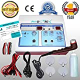 Physiotrex Physio Solutions ElectroTherapy Physiotherapy Combination Therapy TENS with Ultrasonic Machine Combo (White)