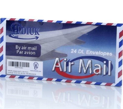 24-classic-style-air-mail-par-avion-chevron-edge-dl-size-gummed-letter-envelopes