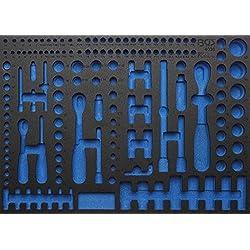 BGS 3/3 Werkstattwageneinlage Leer für Steckschlüsselsatz 192-teilig Pro Torque